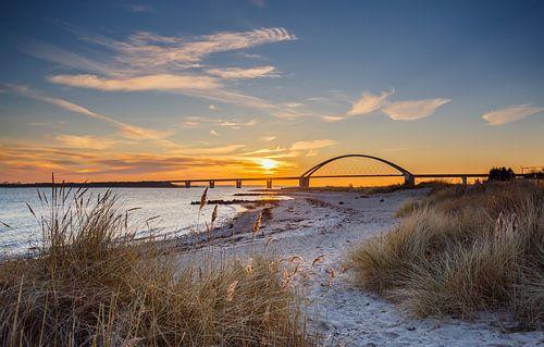 Brücke über den Fehmarnsund van Werner Reins