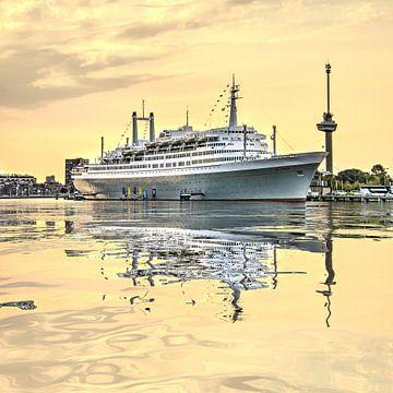 Réflexion de l'eau Maashaven Rotterdam