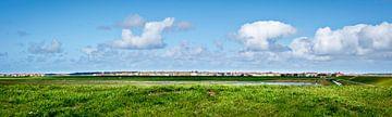 Panoramablick auf Midsland, Terschelling von Rietje Bulthuis