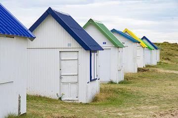 Strandhuisjes van Henk Elshout