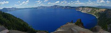 Crater Lake panorama van Jeroen van Deel