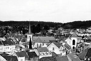 Uitzicht op de kerk van Valkenburg