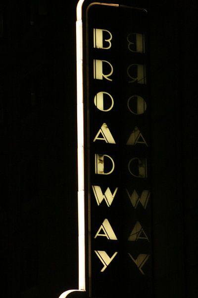 Broadway Sign van Gert-Jan Siesling