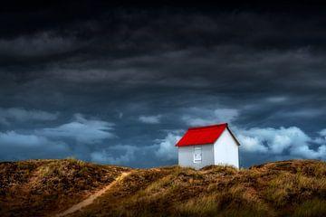 Kleines rotes Dach von Ruud Peters