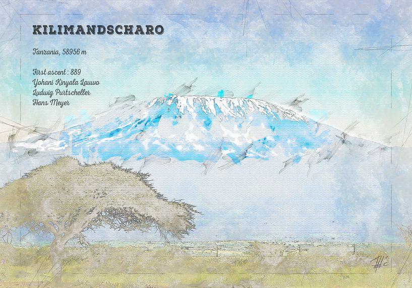 Kilimandscharo, Tansania von Theodor Decker