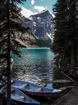 Moraine Lake in Kanada von Koen Lipman
