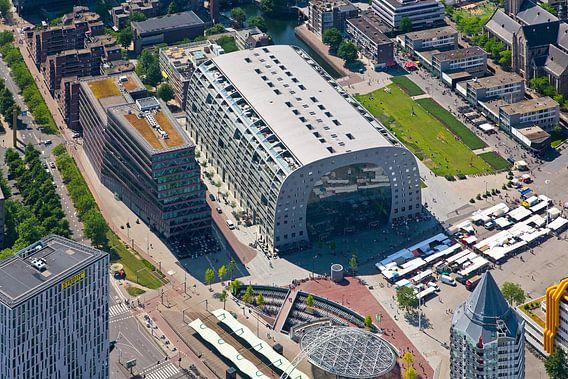 Luchtfoto Markthal 1 van Anton de Zeeuw