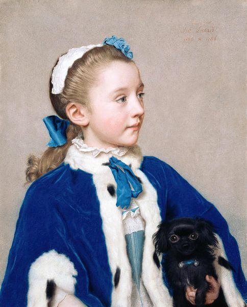 Jean-Étienne Liotard-Maria Frederike von Reede-Athlone auf Sieben von finemasterpiece