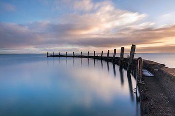 De pier bij Heerenkeet! van Karin de Bruin