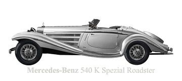 Mercedes-Benz 540 K Speciale Roadster van aRi F. Huber