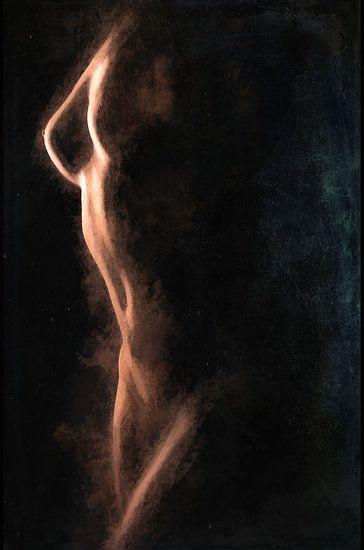 Nude bodycape