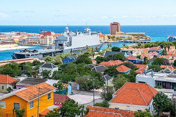 Haven Willemstad Curacao van Michel Groen
