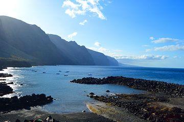 Headland Punta de Teno - puur natuur op het meest westelijke punt van Tenerife van kanarischer Inselkrebs Heinz Steiner