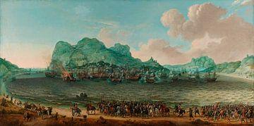 Sieg über die Spanier bei Gibraltar, 25. April 1607, Adam Willaerts