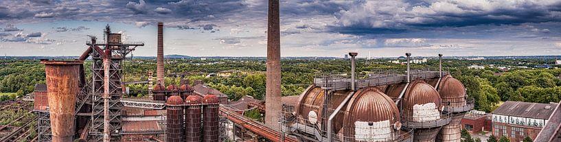 Landschaftspark Panorama von Freddy Hoevers