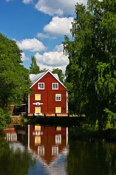 Huis aan de rivier van Anja B. Schäfer