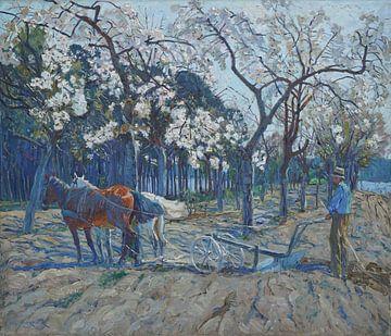 Pfluegender Bauer - Philipp Franck, 1911 von Atelier Liesjes
