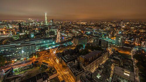 London Skyline von Bert Beckers