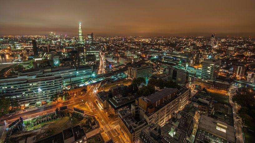 Londen Skyline van Bert Beckers