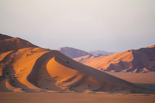 Woestijn: Zandduinen in Oman