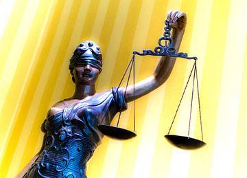 Lady Justice - Justitia von Ton C Kroon