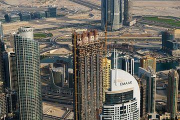 Wolkenkratzer in Dubai von Edsard Keuning