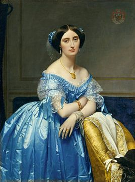 Pauline de Broglie, Prinzessin de Broglie, Jean-Auguste-Dominique Ingres - ca. 1852