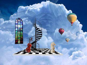 Escaliers au paradis sur Ine Tresoor
