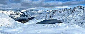 Winters Lac des Vaux van