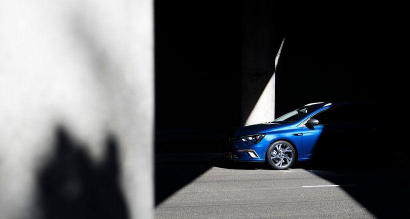 Renault Megane Estate Sunshine von Sytse Dijkstra