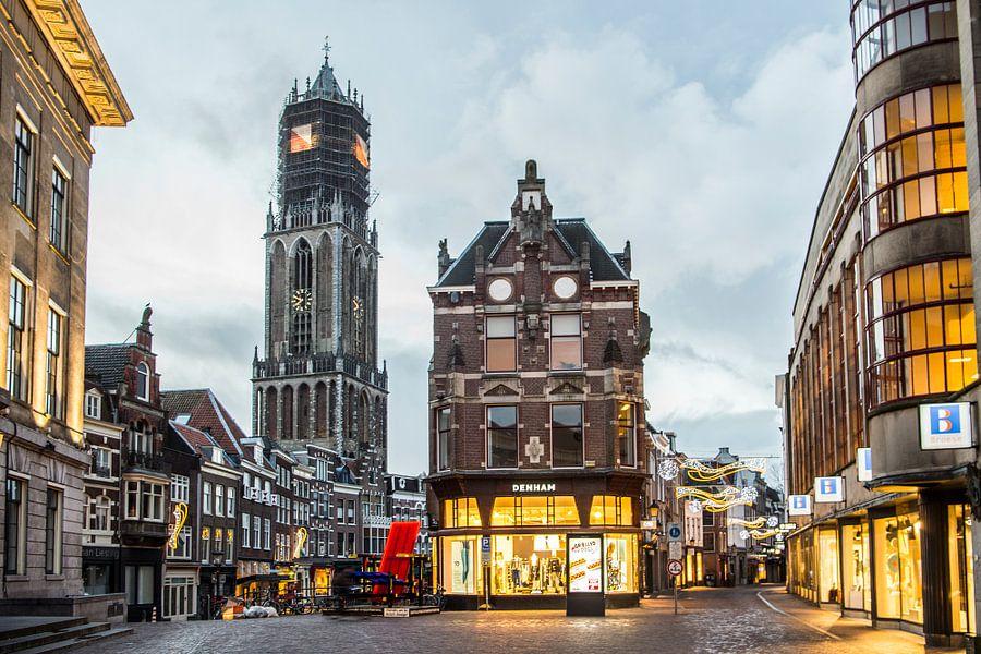 De Domtoren vanaf Stadhuisbrug van De Utrechtse Internet Courant (DUIC)