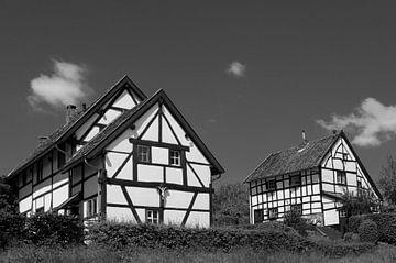 Groep vakwerkhuizen in Epen (De Plaat) von Leo Langen