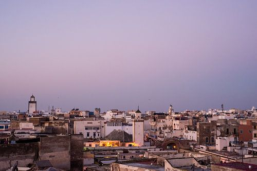 Stadzicht Essaouira, Marokko
