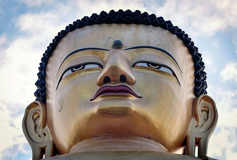 Tempel Nepal van Dennis Timmer