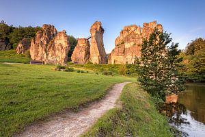 Path to the rocks (Externsteine)
