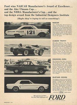 Vintage advertentie 1965 FORD! van Jaap Ros
